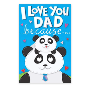 #10 Love you dad because journal