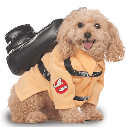#15 Dog Ghost Buster Halloween Costume