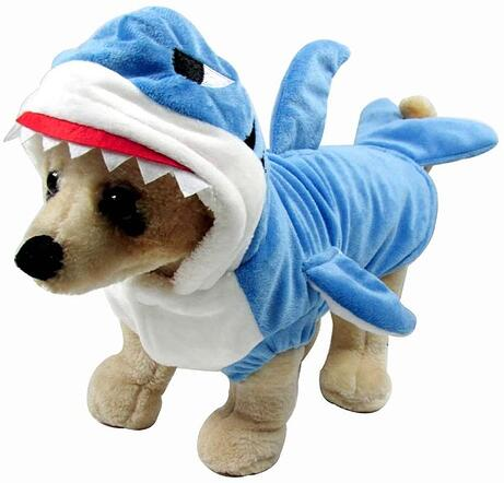 #2 Dog Shark Halloween Costume
