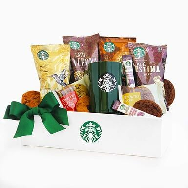 #3 Starbucks Gift Box