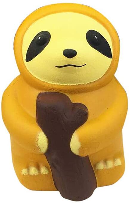 #8 Cartoon Sloth Squeeze Toy