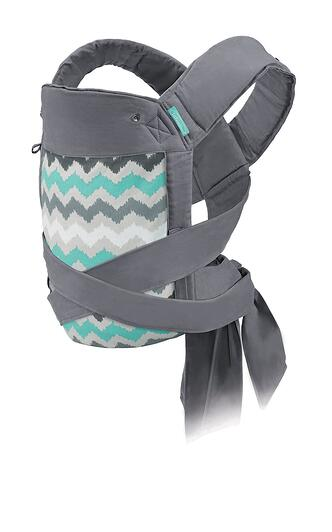 4. Infantino Sash Wrap and Tie Baby Carrier