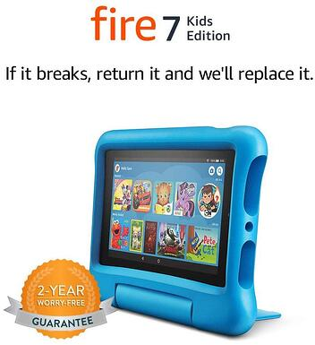 Tablet #7 Amazon fire 7-2