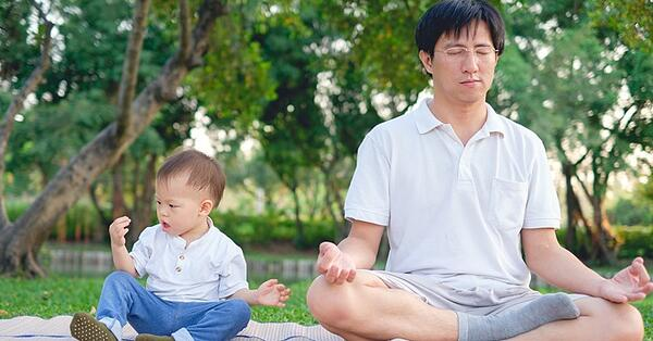 just get started with meditation as a family