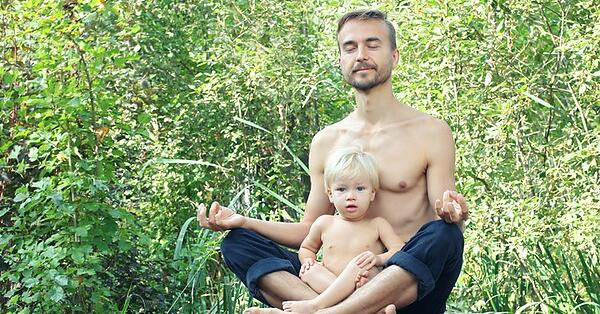 meditating with kids can be beneficial
