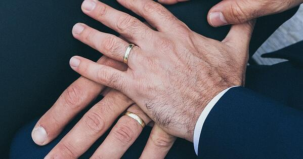 same sex wedding gay bi and trans special day rings