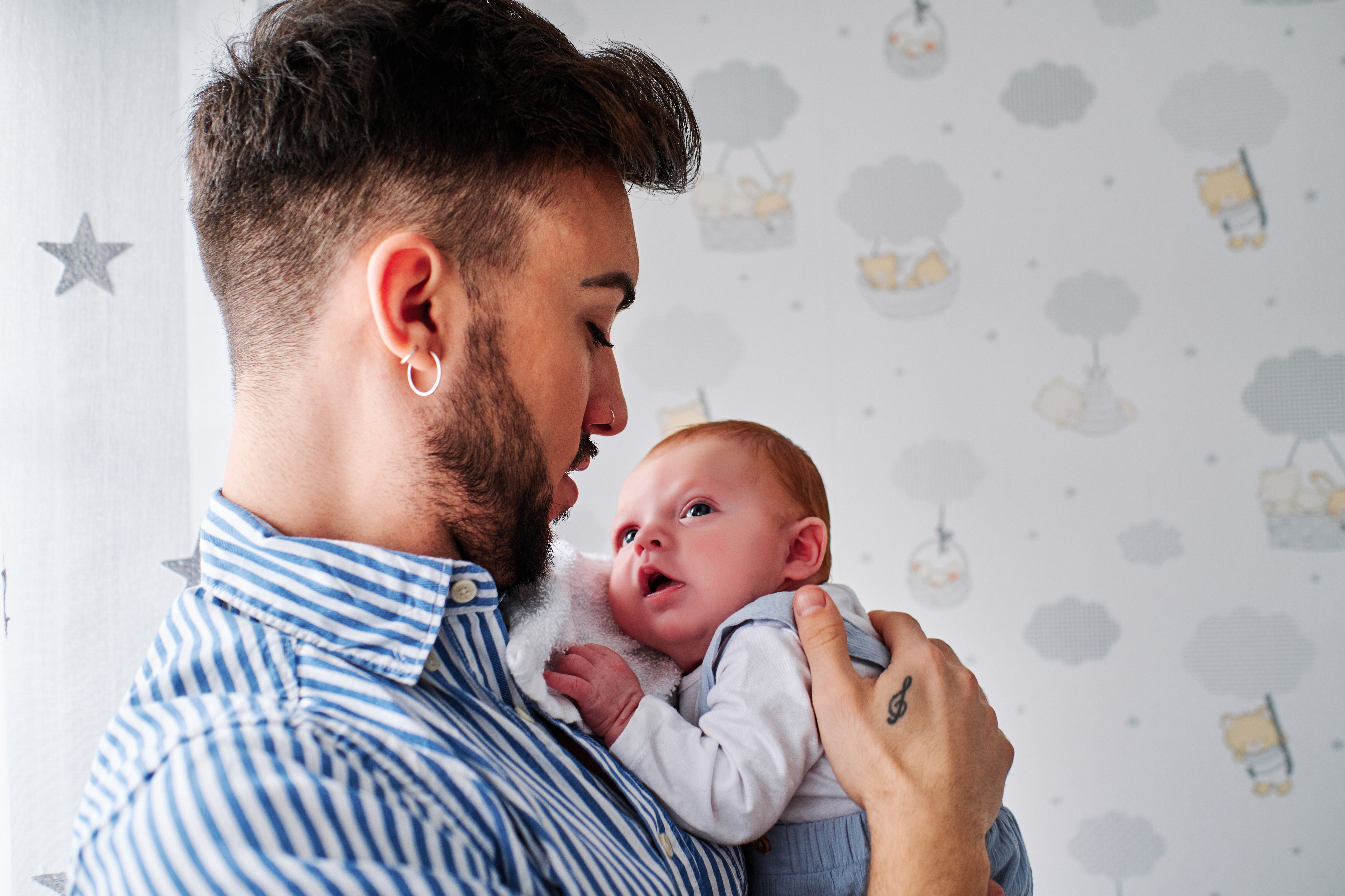 gay dad and baby
