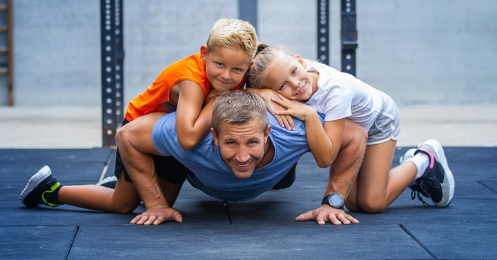 family workout tips to keep the whole family healthy