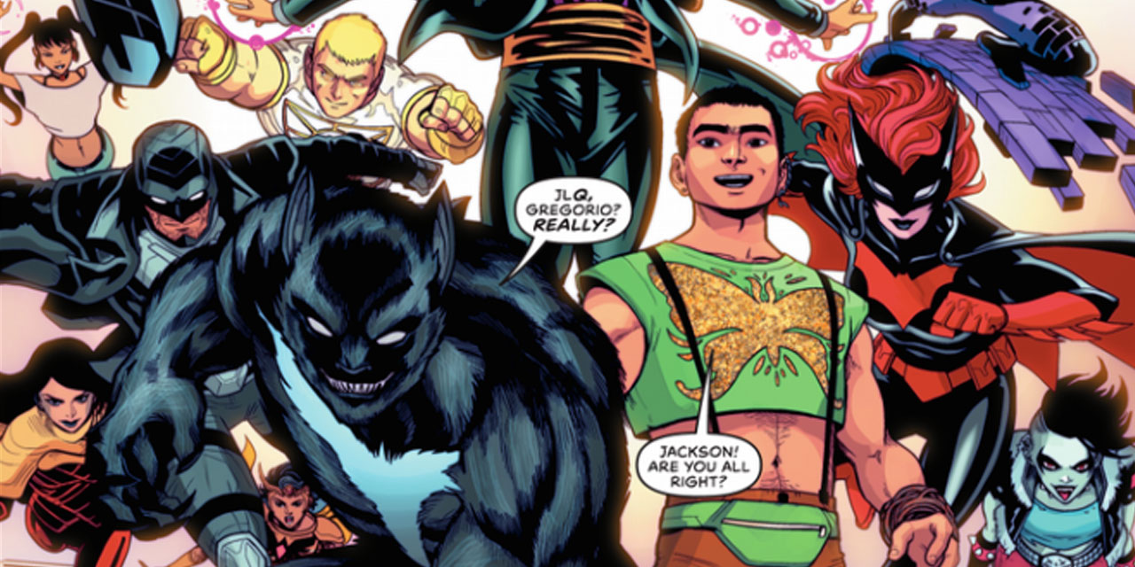 DC comics introduces all LGBTQ+ justice league month for pride