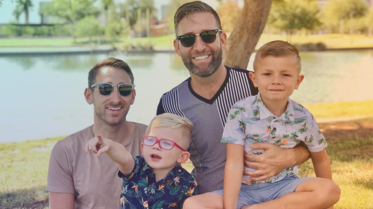 Kevin talks foster care with gay dad Arin Lopez