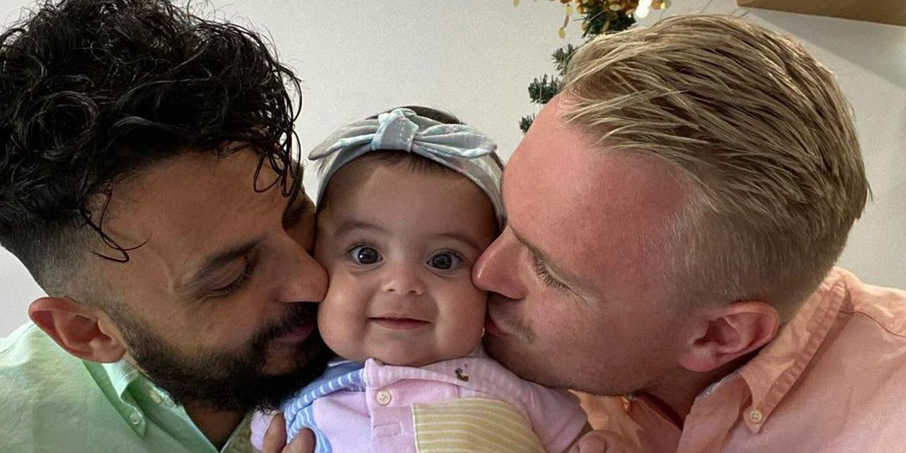 Gay Dads Sam and Rob Become Dads Through Surrogacy