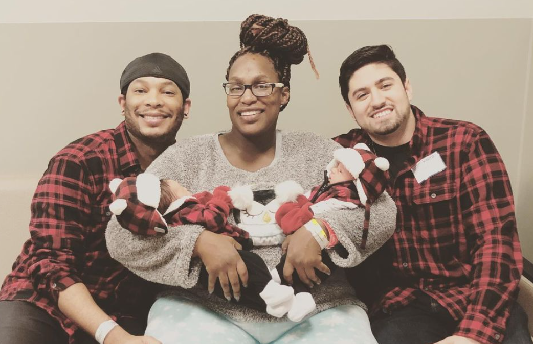 This Gay Dad's Twin Sister Carried His Twin Babies