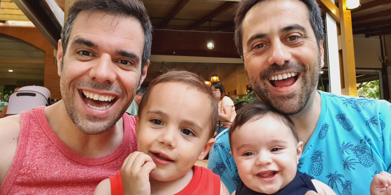 Gay French Dads Have Children Through Surrogacy