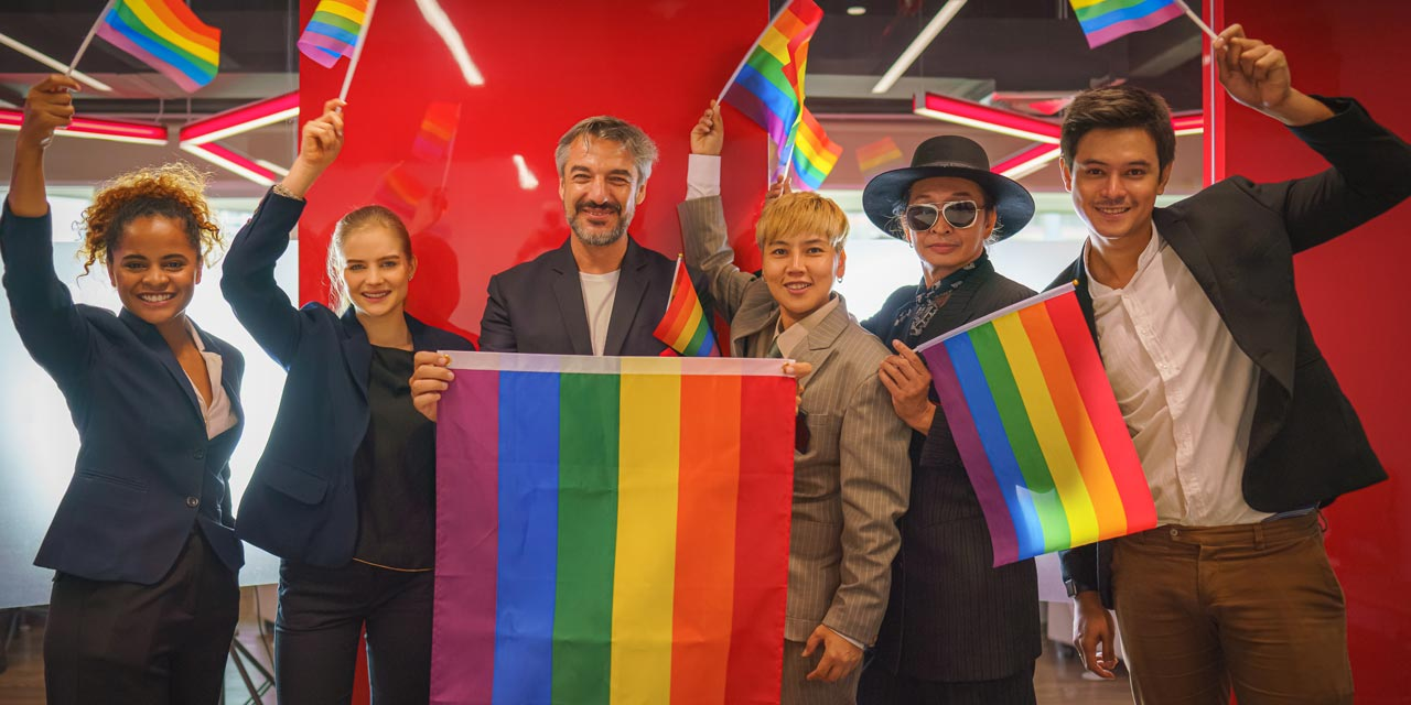 How should brands show their support for pride