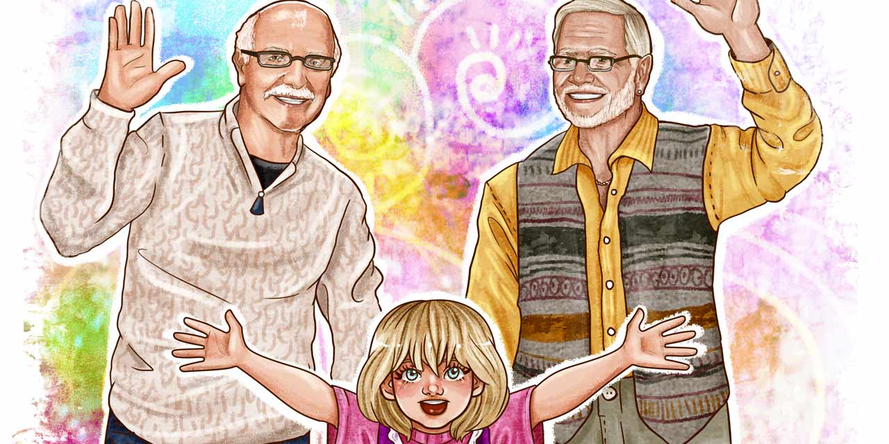 Children's Book Gives Visibility To Gay Grandpas