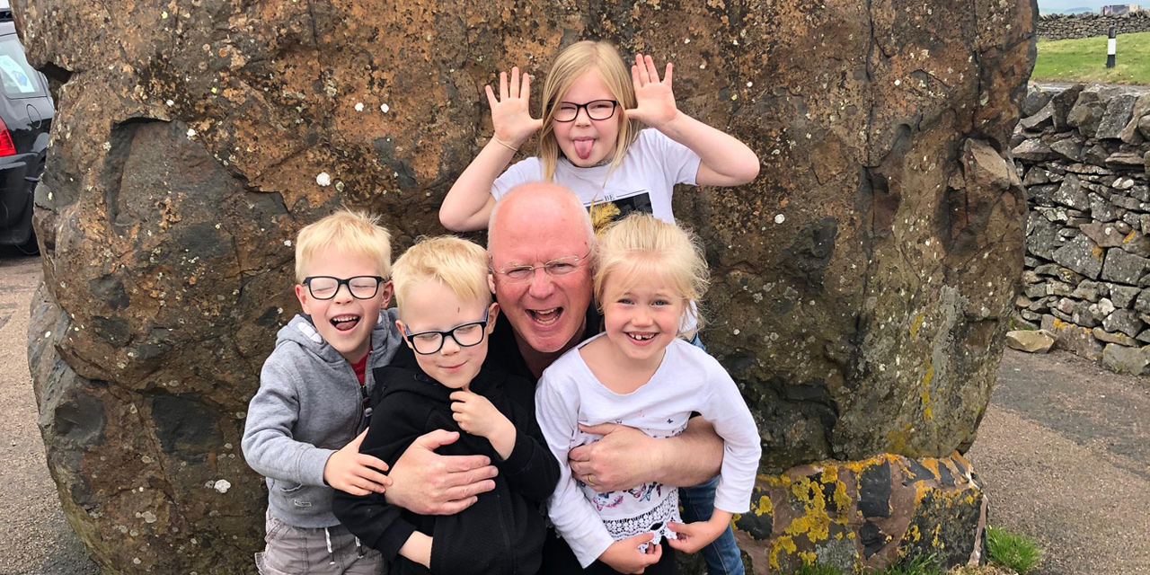 Out and Proud Dad and former police officer tells his story